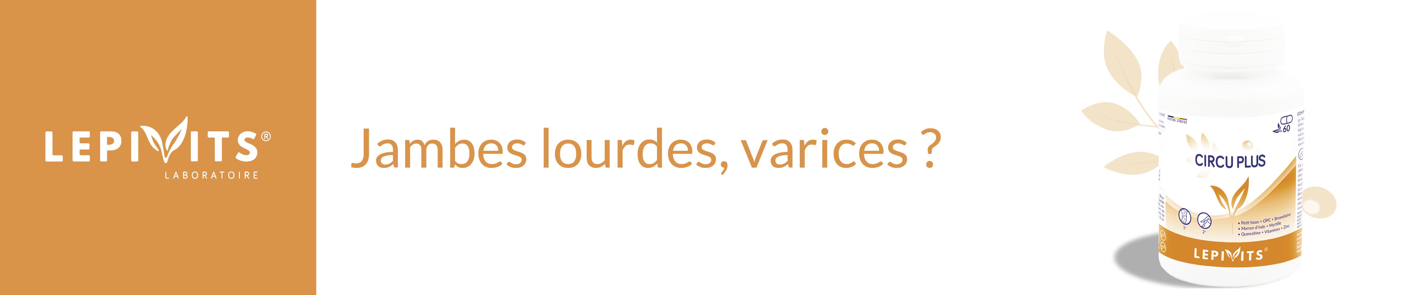 Circu Plus - Confort & jambes légères - Compléments alimentaires naturels & belges